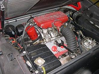 Ferrari Dino engine - 2.9 L Quattrovalvole V8 in a 1984 Ferrari 308 GTB
