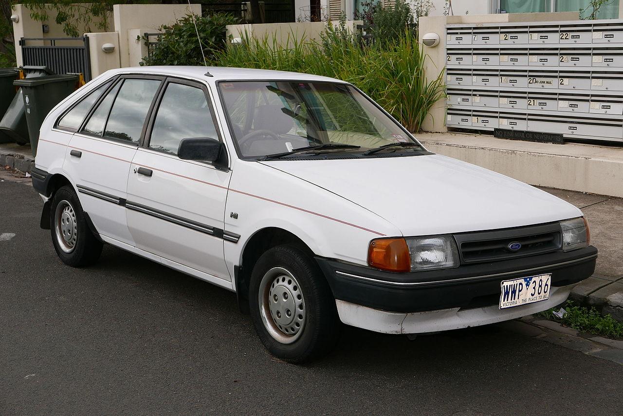 Mazda East Brunswick >> File:1986 Ford Laser (KC) GL 5-door hatchback (2015-07-14 ...