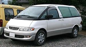 Toyota Previa - 1996–1999 Toyota Estima Emina (Japan)