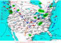 2003-03-12 Surface Weather Map NOAA.png