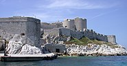 20030614-204 Marseille Château d'If From Ferry