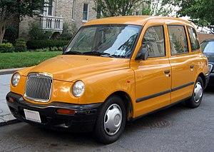 The London Taxi Company - LTI TXII