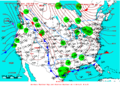 2007-02-09 Surface Weather Map NOAA.png