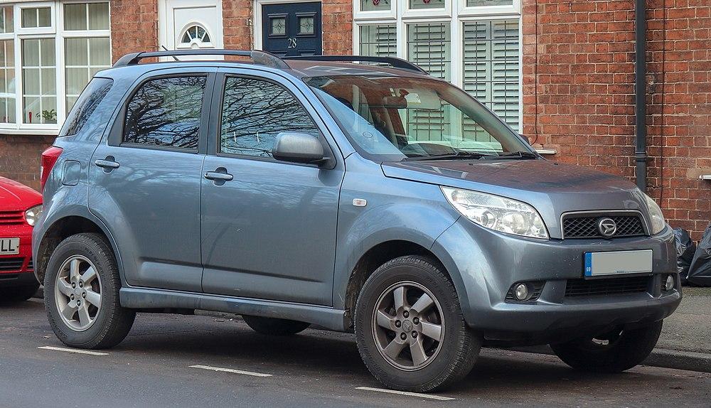 2008 Daihatsu Terios SE 15 Front