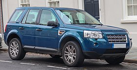 2008 Land Rover Freelander HSE TD4 Automatic 2.2 Front.jpg
