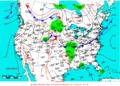 2009-05-25 Surface Weather Map NOAA.png