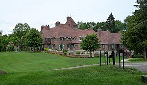 Minnetonka, Minnesota - The Cargill Lake Office, occupying a former mansion, houses the company's top executives.