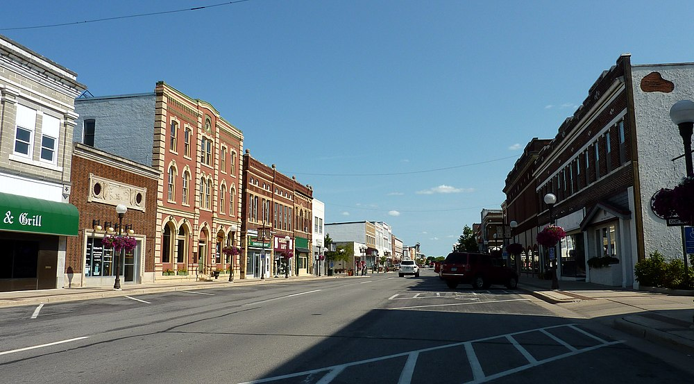The population density of New Ulm in Minnesota is 515.52 people per square kilometer (1334.85 / sq mi)