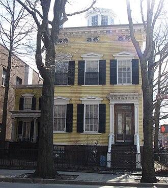 Clinton Hill, Brooklyn - Image: 200 Lafayette Avenue Joseph Steele House from front