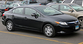 2012 Honda Civic Hybrid (US), front right.jpg