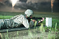 2013 US Army Reserve Best Warrior Competition, M4 rifle night fire 130626-A-XN107-349.jpg