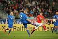 2014-05-30 Austria - Iceland football match, Birkir Már Sævarsson 0946.jpg