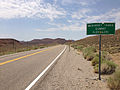 2014-07-17 11 46 32 View west along U.S. Route 6 about 20.1 miles east of the Esmeralda County Line at McKinney Tanks Summit, Nevada.JPG