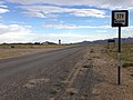 2014-07-18 18 15 19 First reassurance sign along southbound Nevada State Route 379 (Duckwater Road) about 19.5 miles north of U.S. Route 6 in Duckwater, Nevada.JPG