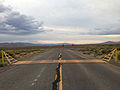 2014-07-30 19 29 44 View east near the east end of Nevada State Route 722 (Caroll Summit Road) at U.S. Route 50 in Lander County, Nevada.JPG