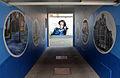 2014-08 Graffiti Patrik Wolters alias BeneR1 im Team mit Kevin Lasner alias koarts, Hannah Arendt-Haus am Lindener Marktplatz 2, Hannover-Linden-Mitte, Blick durch die Seiteneinfahrt in der Falkenstraße.jpg