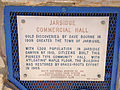 2014-09-25 13 25 22 Historic marker for the Jarbidge Commercial Hall in Jarbidge, Nevada.jpg