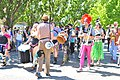 2014 Fremont Solstice parade - The Carnival Band 02 (14511031475).jpg