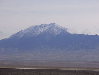Pilot Peak (Nevada) - View of Pilot Peak from Interstate 80 in Nevada