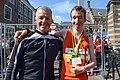 20150517 Bart van Nunen met trainer.jpg