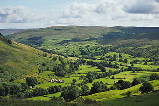 Yorkshire Dales Upland area of the Pennines in Northern England