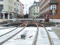 2016-10-16 road works at Berliner Platz (looking east).png