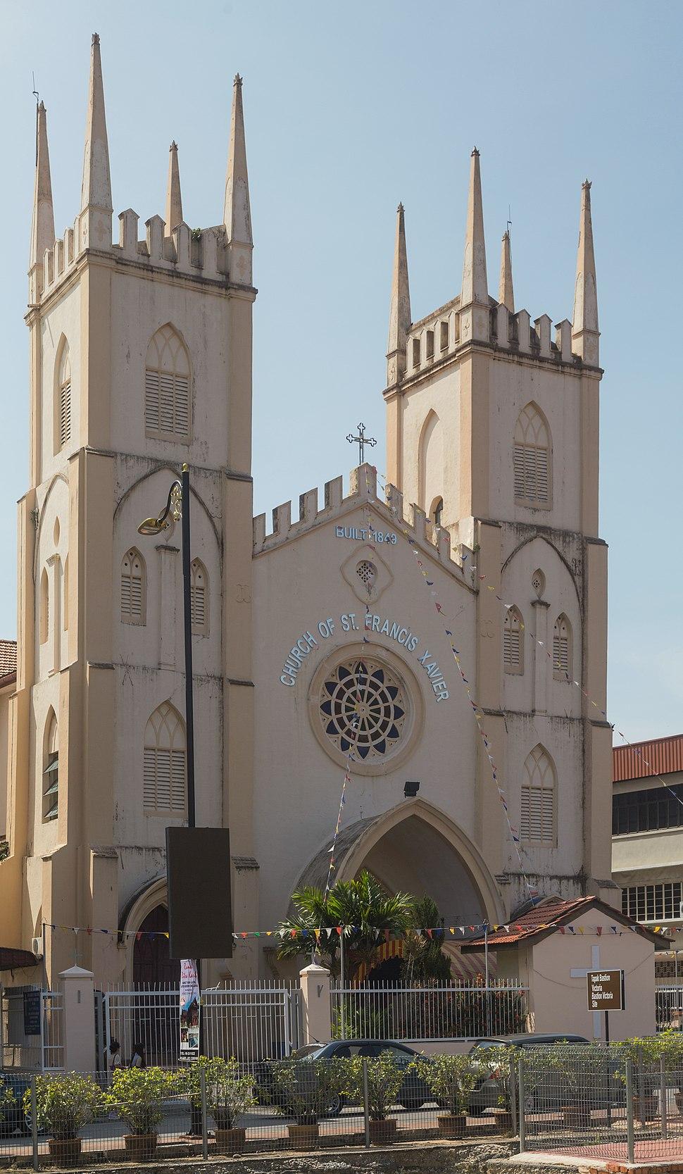 2016 Malakka, Kościół św. Franciszka Ksawerego (01)