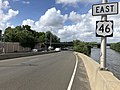 2018-07-24 15 44 27 View east along U.S. Route 46 just west of New Jersey State Route 21 (McCarter Highway) in Clifton, Passaic County, New Jersey.jpg