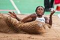 2018 DM Leichtathletik - Weitsprung Frauen - Sosthene Moguenara - by 2eight - DSC9770.jpg