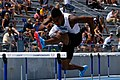 2018 USATF Outdoor National Championships SPC Marcus Maxey, 110m Hurdles (41180527490).jpg