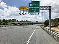 2019-06-20 12 51 09 View south along Interstate 895 (Baltimore Harbor Tunnel Thruway) at Exit 1 (U.S. Route 1 SOUTH-Washington Boulevard) in Arbutus, Baltimore County, Maryland.jpg