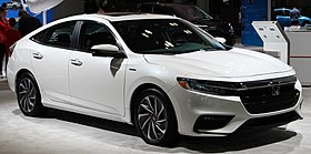 2019 Honda Insight Hybrid Touring front NYIAS 2019.jpg