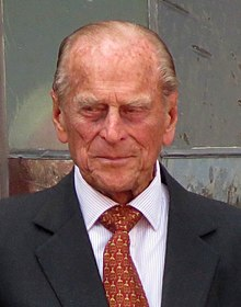 photograph of Prince Philip in his ninety-fourth year