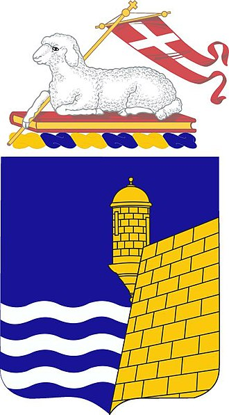296th Infantry Regiment - Coat of arms