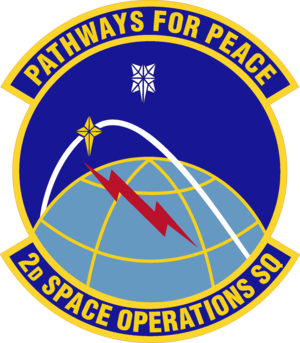 2d Space Operations Squadron - Image: 2 SOPS emblem