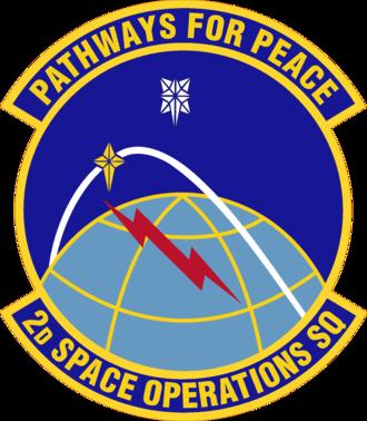 2d Space Operations Squadron - Image: 2 SOPS emblem