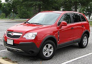 Saturn Vue - Image: 2nd Saturn Vue 08 28 2009