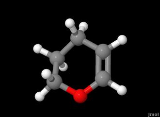 Dihydropyran - Image: 3,4 dihydropyran 3D balls