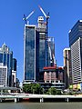 300 George and The One, Brisbane under construction in November 2018, 03.jpg