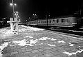 3088 Dworzec Główny w trakcie modernizacji. Kapliczka partonki kolejarzy na peronie . Foto Barbara Maliszewska.jpg