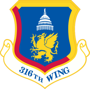 316th Wing - 316th Wing emblem