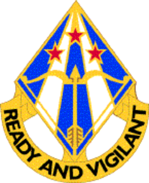 31st Air Defense Artillery Brigade (United States) - Image: 31ADABde DUI