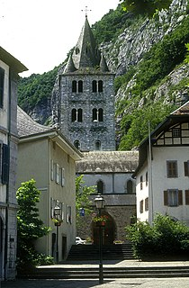 6th century monastery in Switzerland