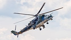 3368 Czech Republic Air Force Mil Mi-24V Hind E ILA Berlin 2016 03.jpg