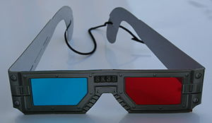 "Spy Kids 3-D: Game Over - 3D glasses for ""Spy Kids 3D"". Glasses included with DVD release did not include the strap."