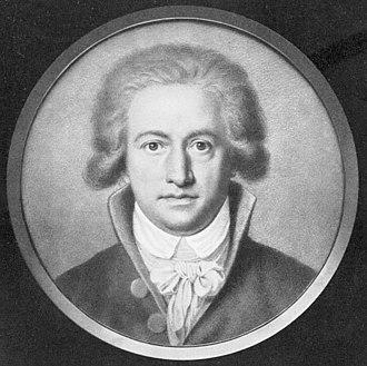 Johann Heinrich Lips - Portrait of Johann Wolfgang von Goethe (1791); used on several  German postage stamps.