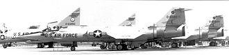 331st Fighter-Interceptor Squadron - 4760th Combat Crew Training Squadron F-104s at Webb AFB