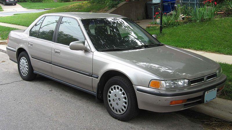 1990 honda accord sedan. 1990/91 CB7 Honda Accord
