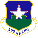 502 Security Police and Logistic Support Gp emblem.png