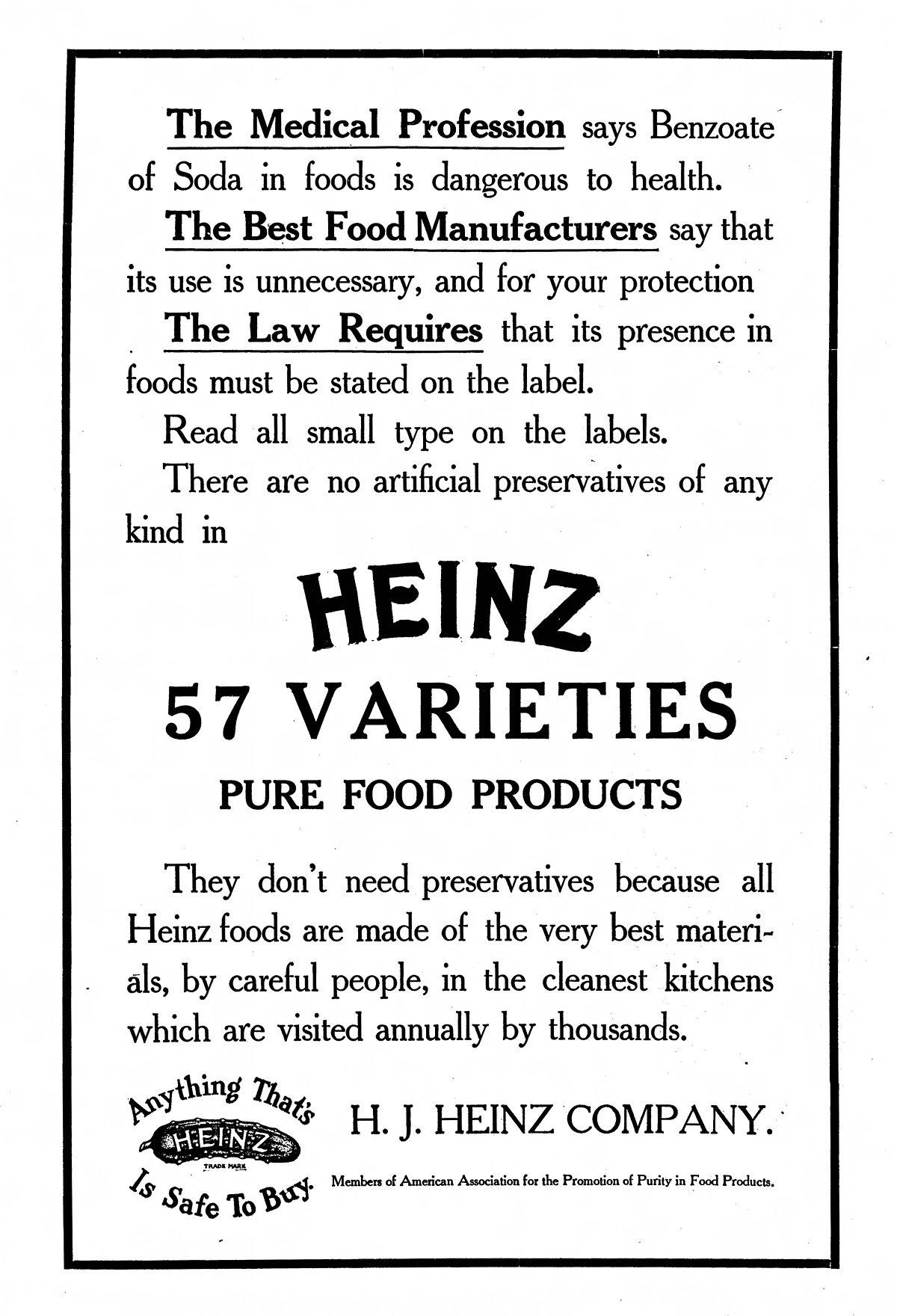 Heinz 57 Wikipedia